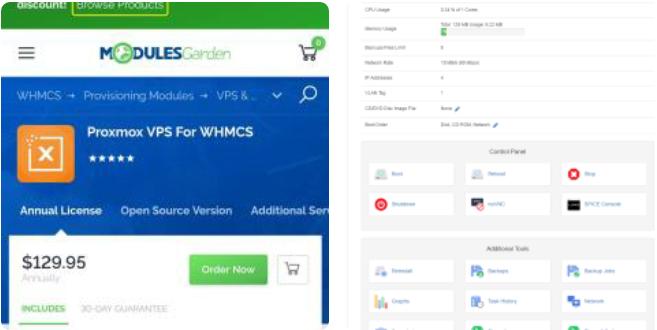 Proxmox VPS2.5 WHMCS 开心版