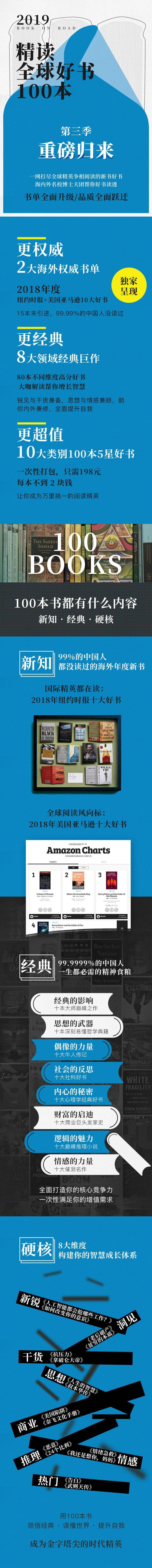 精读全球好书100本第三季