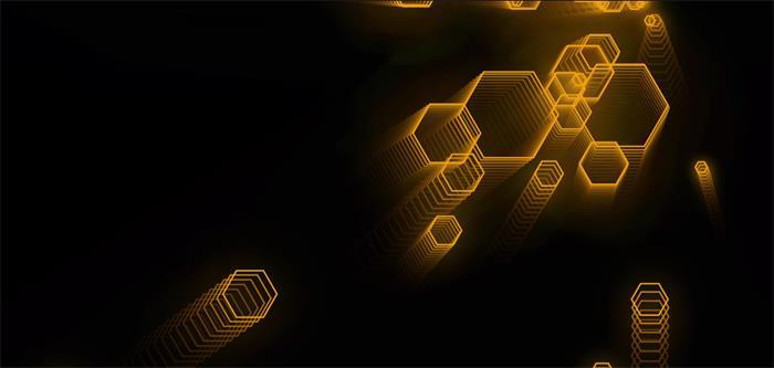 六边形酷炫科技跟随鼠标动态特效源码